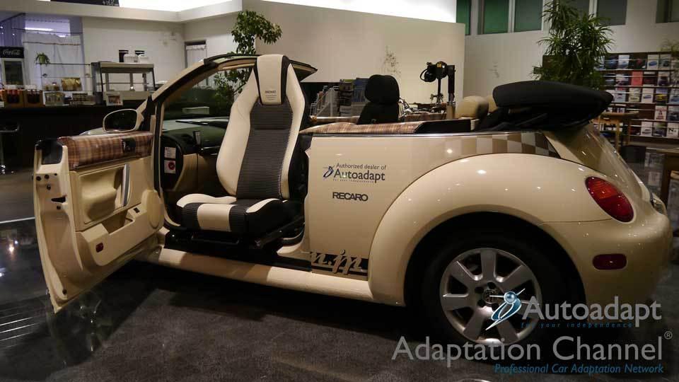 輸入車の福祉車両改造 回転シート