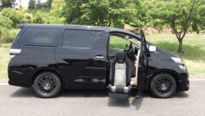 運転席の回転昇降シート後付け、福祉車両改造