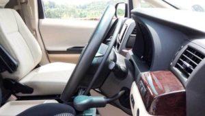 福祉車両改造 トヨタ 手動運転装置 アクセルリング 障がい者運転