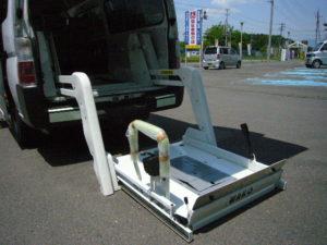 福祉車両改造 車椅子リフト 車いす移動車