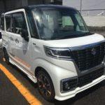 福祉車両改造事例 スズキ スペーシアカスタム 車椅子収納装置 ピラーリフト 福祉車両改造