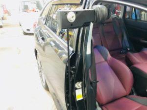 スバルレヴォーグに車いす収納リフトを着けて福祉車両にしました2018年9月➂