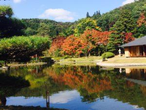 福祉車両でデート、旅行 福島県白河市南湖公園