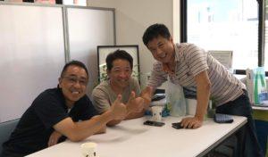 2007年の10月 福祉車両改造の夢を描く3人が集まりました