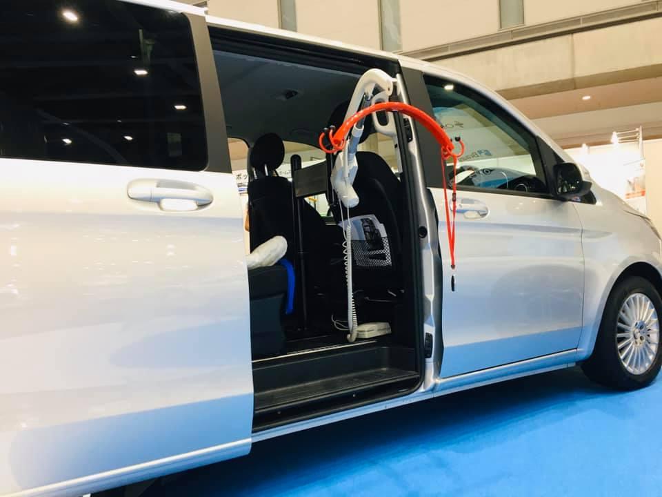 国際福祉機器展 HCR2019 ⑦ モリトー つるべー 車搭載型リフト