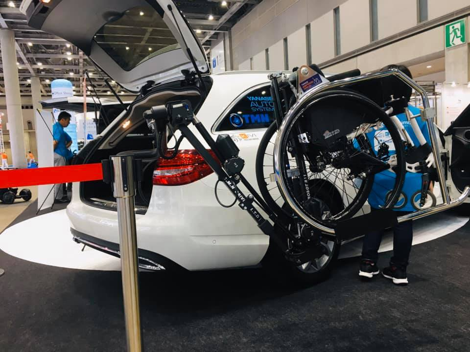 国際福祉機器展 HCR2019 ⑥ TMN ロボットアーム