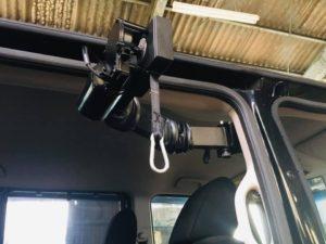 福祉車両改造 ホンダ N-BOX 20190928 ピラーリフト 車いす収納 車いす車載