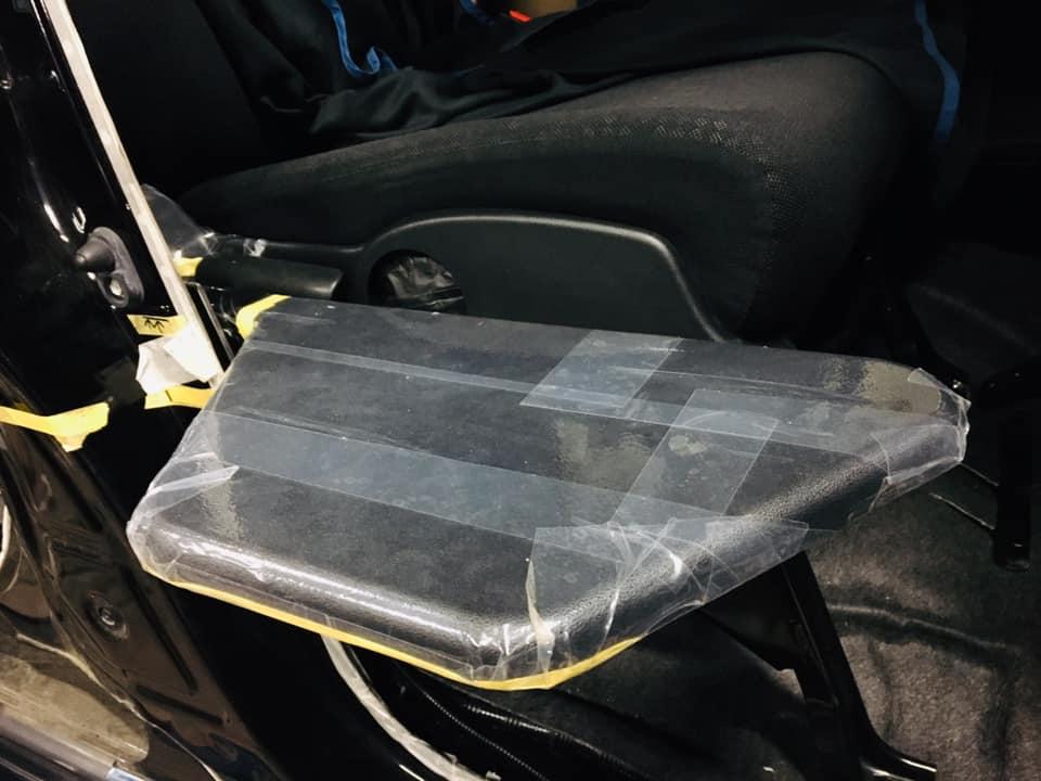 福祉車両改造 ホンダ N-BOX 20190928 ティップアッププレート 移乗サポート