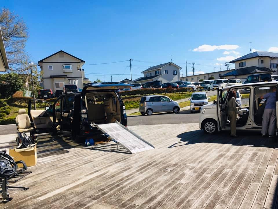 福祉車両展示相談会 福島県 20191016 ②