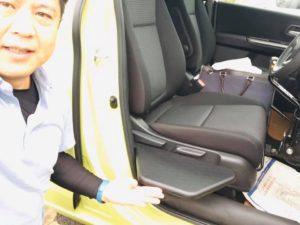 福祉車両改造 福島市 納車 移乗サポートシート 20191013