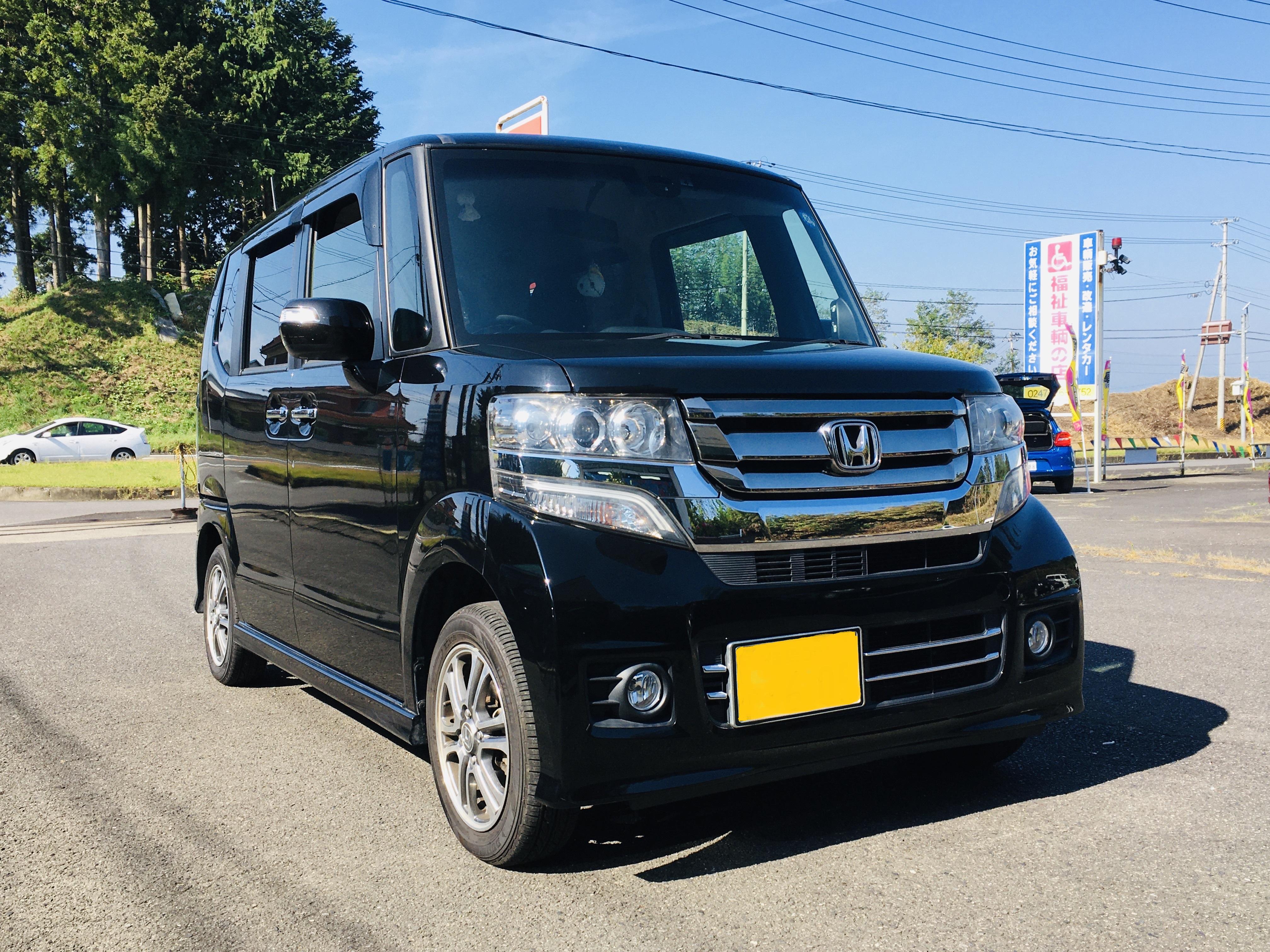 福祉車両改造 ホンダN-BOX 手動運転装置 福祉車両へ改造 201910 ①