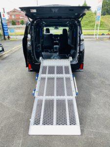 福祉車両改造 トヨタ ヴェルファイア スロープ 電動ウィンチ 福祉車両への改造 202009 ⑦