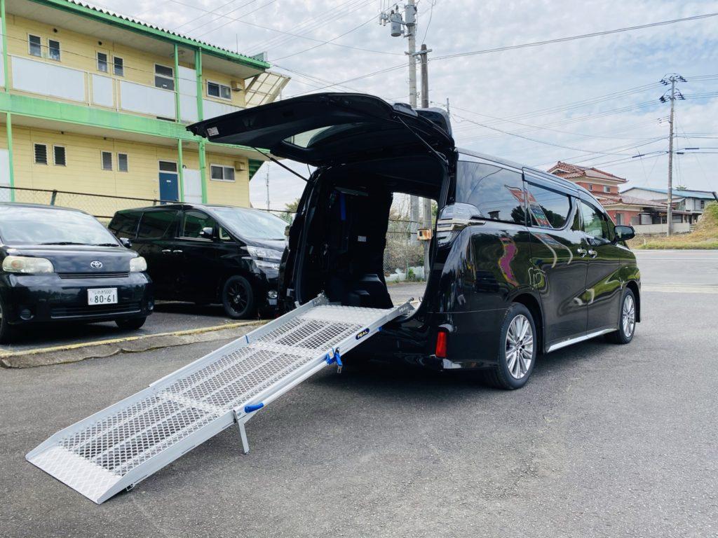 福祉車両改造 トヨタ ヴェルファイア スロープ 電動ウィンチ 福祉車両への改造 202009 ⑧