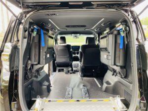 福祉車両改造 トヨタ ヴェルファイア スロープ 電動ウィンチ 福祉車両への改造 202009 ⑨