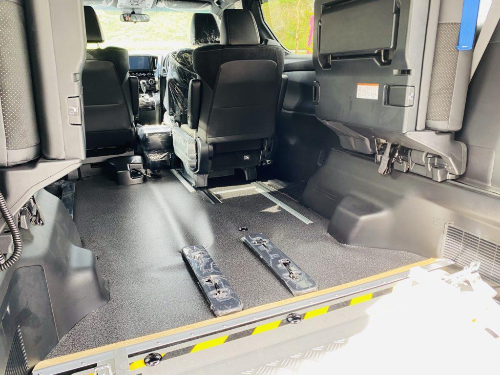 福祉車両改造 トヨタ ヴェルファイア スロープ 電動ウィンチ 福祉車両への改造 202009 ⑩