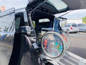 福祉車両改造 トヨタ ヴェルファイア スロープ 電動ウィンチ 福祉車両への改造 202009 ⑭