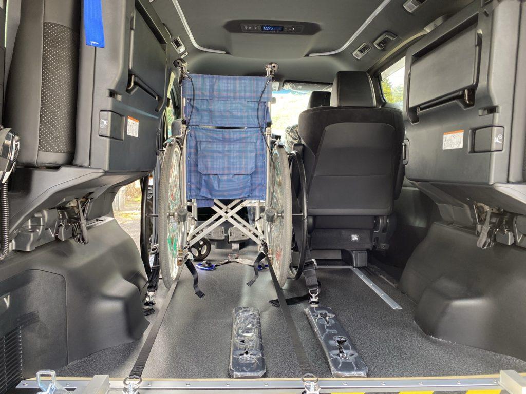 福祉車両改造 トヨタ ヴェルファイア スロープ 電動ウィンチ 福祉車両への改造 202009 ⑰