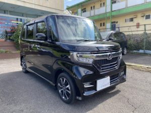 福祉車両改造 ホンダ N-BOX 車いす収納装置 202010 ①