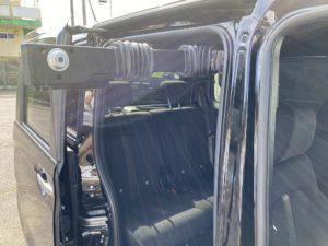 福祉車両改造 ホンダ N-BOX 車いす収納装置 202010 ⑧