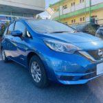 福祉車両改造 日産 ノート ブレーキレバー  福祉車両への改造 202010 ①