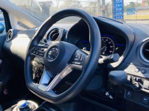 福祉車両改造 日産 ノート ブレーキレバー  福祉車両への改造 202010 ⑥
