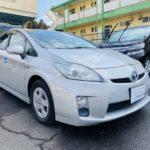 福祉車両改造 トヨタ プリウス 左足アクセル 福祉車両への改造 202101 ①