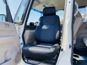 福祉車両改造 ホンダ N-BOX 後付け回転シート 福祉車両への改造 202102 ⑥