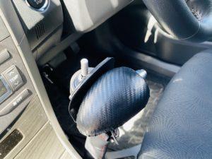 福祉車両改造 トヨタ フィールダー 手動運転装置 福祉車両への改造 ④