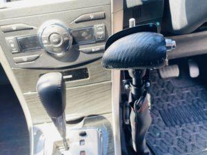 福祉車両改造 トヨタ フィールダー 手動運転装置 福祉車両への改造 ⑥