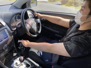 福祉車両改造 トヨタ フィールダー 手動運転装置 福祉車両への改造 ⑭