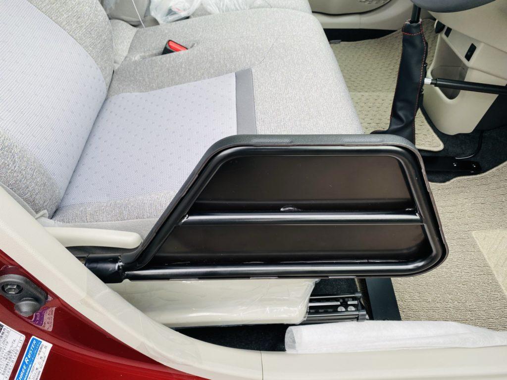 福祉車両改造 トヨタ パッソ 移乗補助シート 福祉車両への改造 自動車運転支援 福島県 202106 ⑨