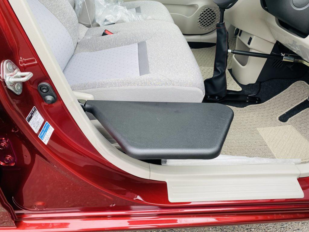 福祉車両改造 トヨタ パッソ 移乗補助シート 福祉車両への改造 自動車運転支援 福島県 202106 ⑩
