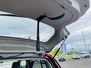 福祉車両改造 トヨタ パッソ バックドア補助ストラップ 福祉車両への改造 自動車運転支援 福島県 202106 ⑫
